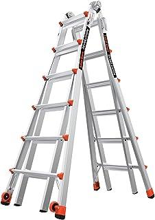 Little Giant Ladders, Revolution, M26, 8-22 foot, Multi-Position Ladder, Aluminum, Type..