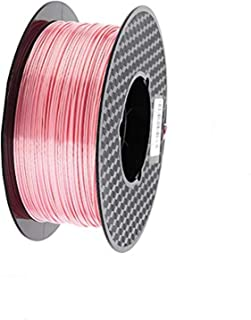 Kehuashina Silk Pla Filament for 3D Printer and Pens, Silk Pink, 1kg Spool - 1.75mm Diameter Filament