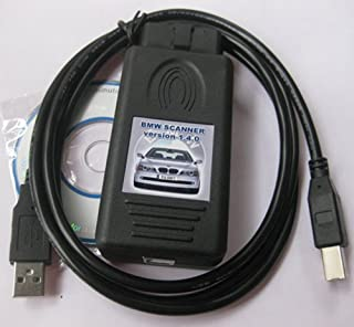 iSaddle BMW Scanner 1.4.0 Programmer V1.4 ECU EEPROM Diagnostic Code Reader for E38 E39 E46 E53 (Must Work with Windows XP)