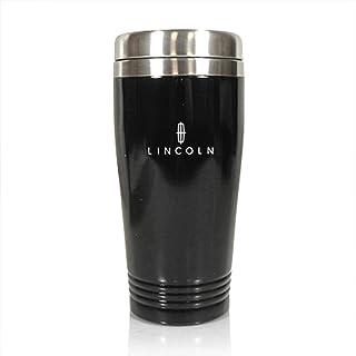 Au-Tomotive Gold Inc. Stainless Steel Vacuum Travel Mug for Lincoln Black - TM150.LIN.BLK-1