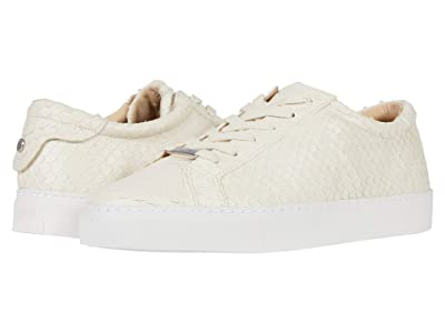 J/Slides Lacee Cut (Off-White Embossed) Women