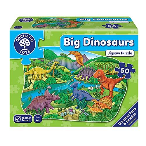 Orchard Toys- Puzzle Big Dinosaurs 50 pzas, Multicolor (XOT-