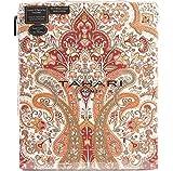 Tahari Home Boho Style Rouge Orange Blanc Full Queen Housse de couette 3PC Ensemble...