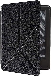 Capa Kindle Paperwhite 10ª geração à prova d'água - Função Liga/Desliga - Fechamento magnético - Origami - Preta