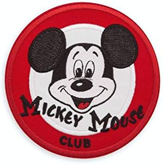 Disney Parks - Mickey Mouse Club - Embroidered Applique Decorative Patch - 5 Inch Diameter