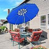 MOVTOTOP Sonnenschirm Balkon UV50+, Marktschirm Gartenschirm Terrassenschirm, Tragbarer Sonnenschutz...