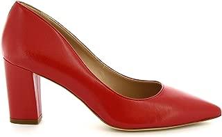 LEONARDO SHOES Luxury Fashion Womens CINDYNAPPARED Red Pumps   Season Permanent