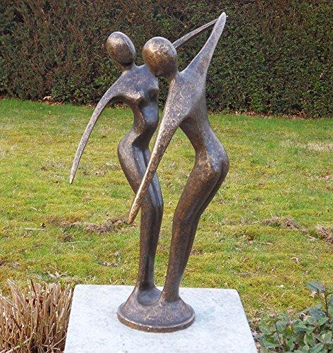 tanzendes Couple moderne en bronze