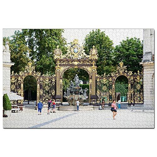 Francia Nancy Puzzle 1000 Piezas para Adultos Familia Rompecabezas Recuerdo Turismo Regalo