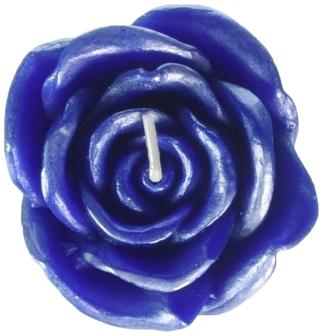 私たちのもの渇き人気のZest Candle CFZ-075 3 in. Blue Rose Floating Candles -12pc-Box