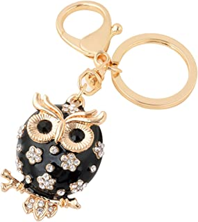 Owl Keychain,New Arrival Cute Animal Keychain for Women Car Keyring for Best Friendship Accessories Pendant Jewelry