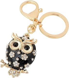 Owl Turtle Keychain,Cute Animal Keychain Car Keyring Best Friendship Pendant