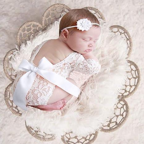 Hippy Tieback Newborn Headband Ecru Lace Vintage headband Hippy headband vintage newborn Vintage tieback Newborn Newborn Photoshoot