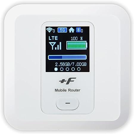 富士ソフト +F FS030W(シャインホワイト) モバイルWi-Fiルーター SIMフリー