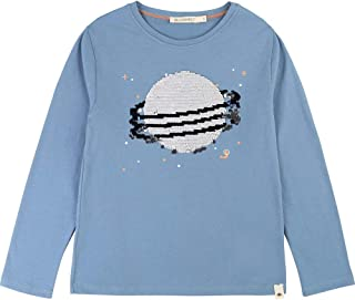BILLYBANDIT Jungen Langarmshirt mit Wendepailetten V25514 blau Shirt NEU