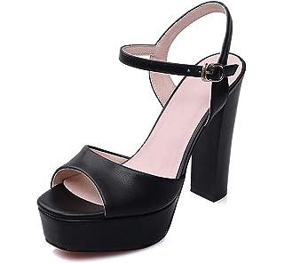 Buckle Belt Casual Women Shoes Women Sandals Plataformas Mujer Sandalias High Heels
