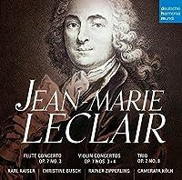 Jean-Marie Leclair: Concertos Op. 7 by KAISER / BUSCH / CAMERATA KOLN