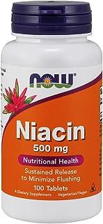 Now Foods La Niacina 500 mg - 100 Unidades