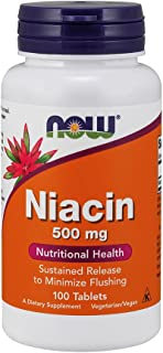 NOW Foods NOW Foods Niacin 500mg Sustained Release Tabs 100's