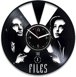 Rainbowclocks X-Files disque vinyle Horloge X-Files Movie Horloge X-Files Vinyle Horloge murale X-Files Cadeau pour homme ...