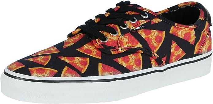 Amazon.com: Vans Chima Ferguson Pro Digi Pizza negro Mens ...