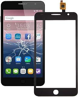 QFH Touch Panel for Alcatel One Touch Pop Star / 5022 (Black) قطع غيار لوحة اللمس للهاتف المحمول (Color : Black)