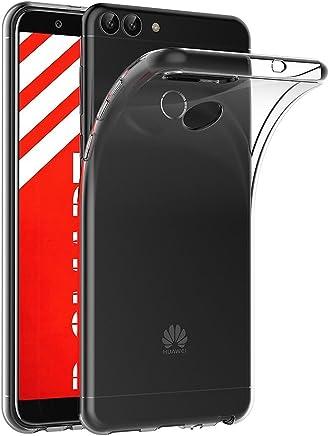 AICEK Cover Huawei P Smart, Cover Huawei P Smart Silicone Case Molle di TPU Trasparente Sottile Custodia per Huawei P Smart (5,65 Pollici)
