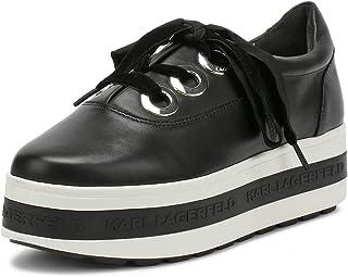 punto de venta de la marca Karl Lagerfeld Lagerfeld Lagerfeld Kobo Kup 3-Eye Tie Negro Mujer Platform Zapatillas  Compra calidad 100% autentica