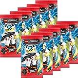 Blue Ocean Lego Ninjago Serie 5 Trading Cards - 10 Booster (50 cartas), en alemán
