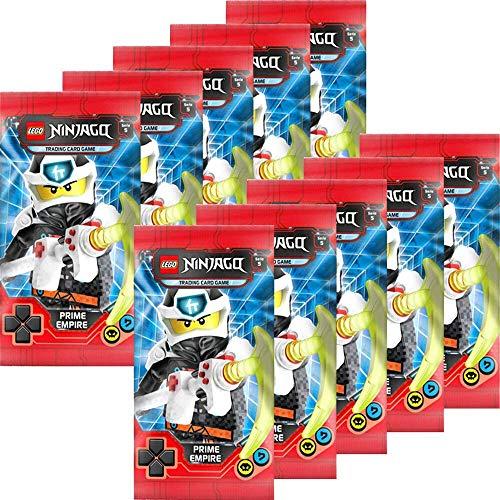 Blue Ocean Lego Ninjago - Serie 5 Trading Cards - 10 Booster ( 50 Cards )- Deutsch