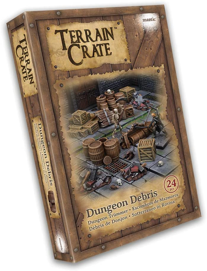 Mantic Games MGTC108 TerrainCrate: Multi San Jose Mall Outlet ☆ Free Shipping Dungeon Debris