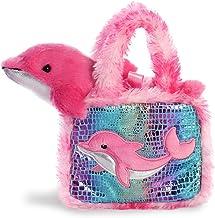 Aurora- Fancy PAL Bolso con Delfín Rosa Peluches y muñecas, Color (32824)