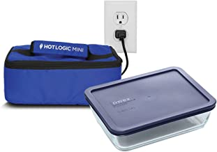 Hot Logic Mini with 6 Cup Pyrex Included - Blue