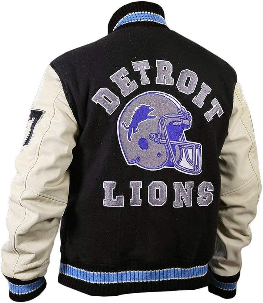 Hills Cop Foley Cotton Fleece Lions Vintage Sports Letterman Jacket