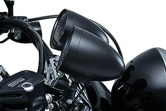 Kuryakyn RoadThunder Speaker Pods and Bluetooth Audio Controller by MTX (Satin Black)