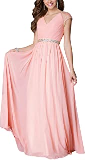 Womens Evening Dress Ball Gown Prom Party Wedding Formal Long Chiffon Maxi Dresses Plus Size