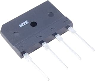 NTE Electronics NTE53008 Silicon Bridge Rectifier, Full Wave, Single Phase, 15 Amps Average Rectified Output Current, 600V Peak Repetitive Reverse Voltage
