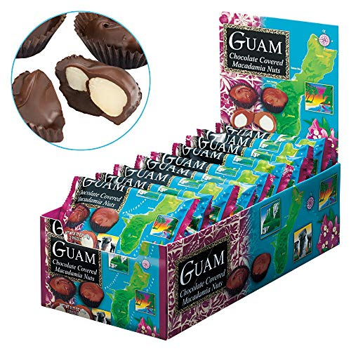 グアム マカデミアナッツ チョコレート ミニパック 18袋セット 【グァム おみやげ(お土産) 輸入食品 スイーツ】