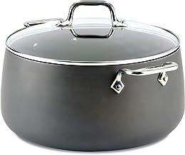 All-Clad HA1 Hard Anodized Nonstick Stock Pot Cookware, Black, 8-Quart, 2100090551