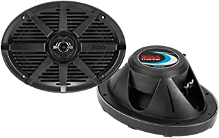 BOSS Audio Systems MR692B 350 Watt Per Pair, 6 x 9 Inch, Full Range, 2 Way Weatherproof Marine Speakers Sold in Pairs