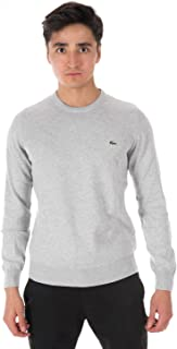 Lacoste Men's Classic Long Sleeve Cotton Jersey Sweater