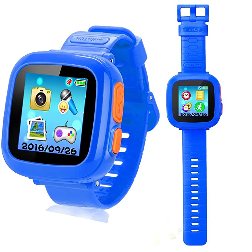 YNCTE Smart Watch for Kids with Digital Camera Games Touch Screen, Cool Toys Watch Gifts for Girls Boys Children