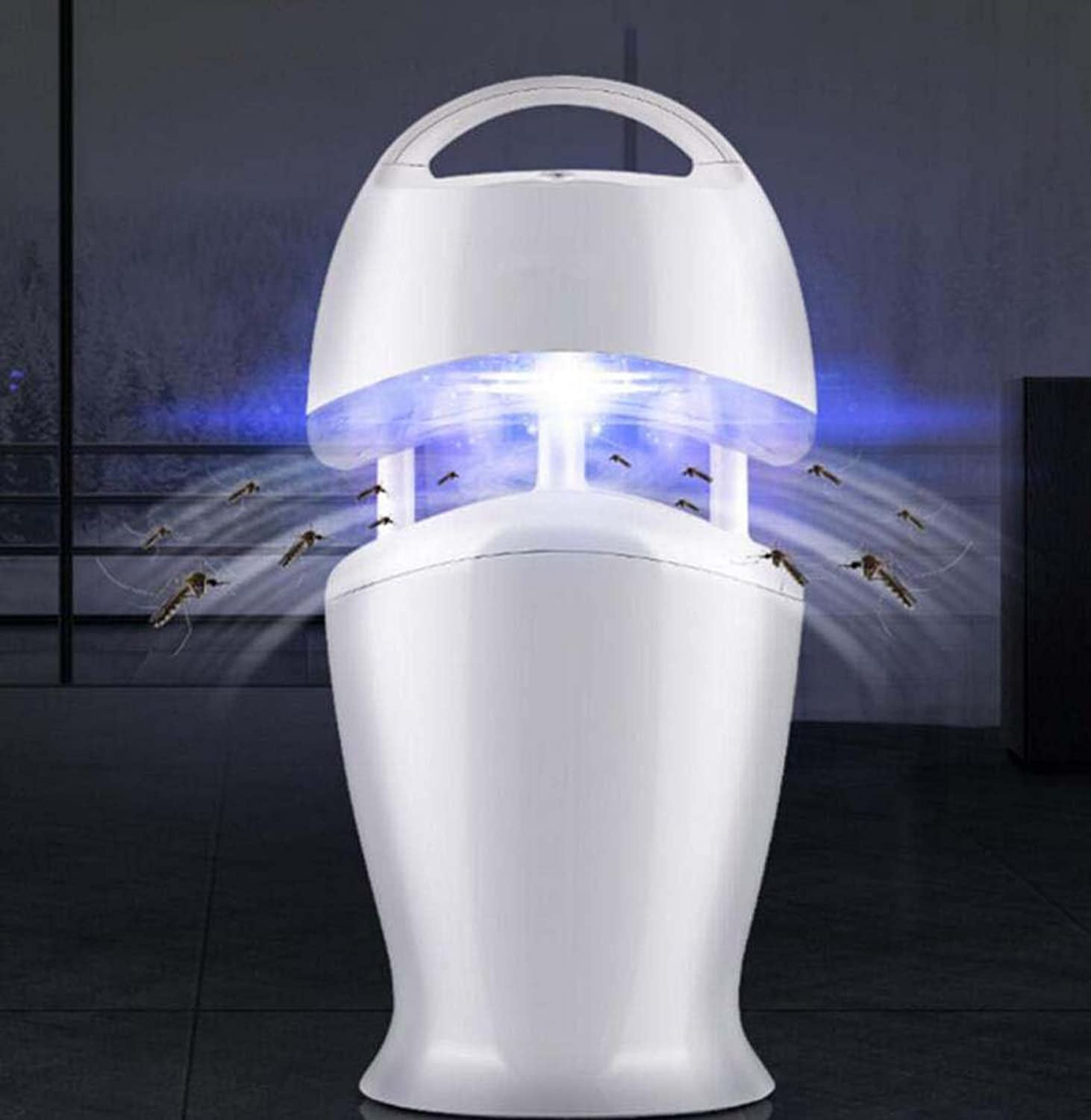 Photocatalyst Mosquito Killer, LED Smart Light Control USB Mosquito Killer, Home Pregnant & Baby Mosquito Killer 24.0 cm  19.5 cm  43.5