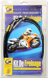 GOODRIDGE-Latiguillo de freno delantero negro-Moto HONDA CBR-600 RR PC37 año 2003 a 2006