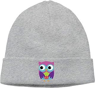 28482a10fbe Cartoon Owl Unisex Winter Knitting Wool Warm Hat Daily Slouchy Hats Beanie  Skull Cap