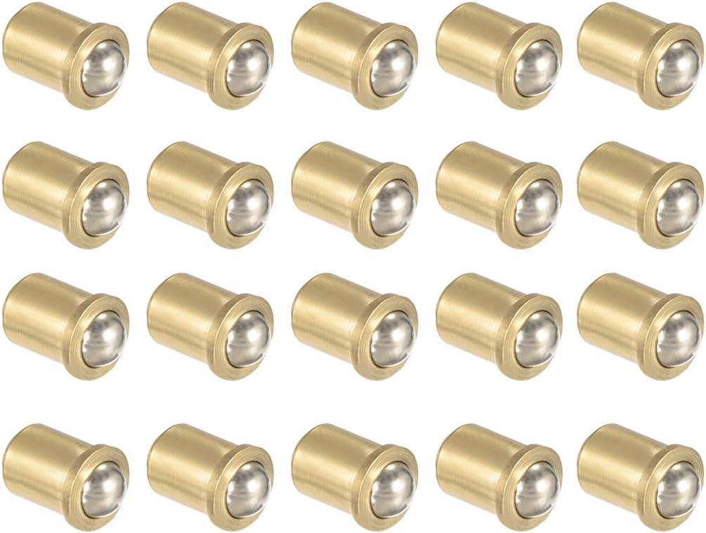 Finally popular brand uxcell Door Cabinet Closet Drawer 7mm Brass Ball Latch Low price Catch Dia