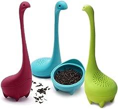 Minear Silikon Teesieb Tier Teefilter Tea Infuser Teekugel F/ür Lose Teebl/ätter Nahrungsmittelgrad Silikon Tee Leck