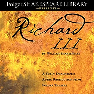 Richard III     A Fully-Dramatized Audio Production From Folger Theatre              Auteur(s):                                                                                                                                 William Shakespeare                               Narrateur(s):                                                                                                                                 full cast                      Durée: 3 h et 22 min     2 évaluations     Au global 4,0