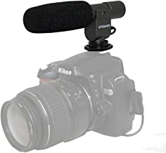 Polaroid Pro Video Condenser Shotgun Microphone For The Olympus Evolt PEN-E-PL3, PEN E-P3, E-PM1, PEN E-P2, E-PL1, E-PL2, E-P3, E-PL3, E-PM1, GX1, OM-D E-M5, E-30, E-300, E-330, E-410, E-420, E-450, E-500, E-510, E-520, E-600, E-620, E-1, E-3, E-5 Digital SLR Cameras Digital SLR Cameras