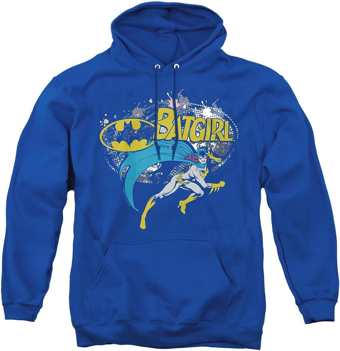 Batman Batgirl Halftone Direct store Unisex Hoodie Adult Pull-Over Product